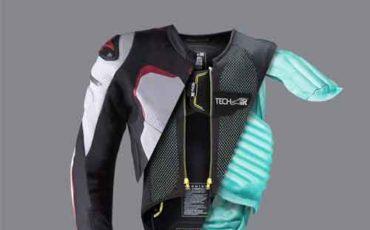 proteção airbag para motociclistas