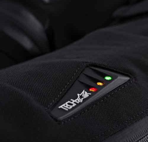 bateria do airbag para motociclistas