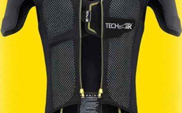 colete airbag para motociclistas