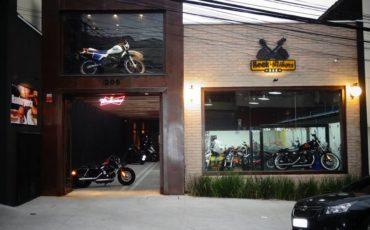 entrada do espaço rock bikers