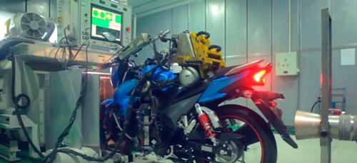 motos em teste