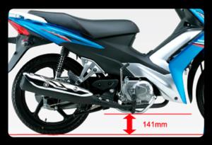 Distancia do solo Moto Nex