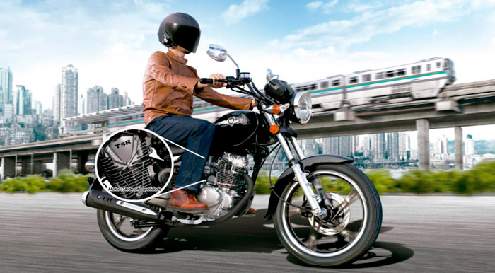 Moto Chopper Road 150 Motor Haojue
