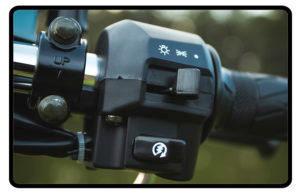 Moto Chopper Road 150 Partida Elétrica