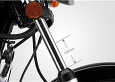 Moto Chopper Road 150 Suspensão