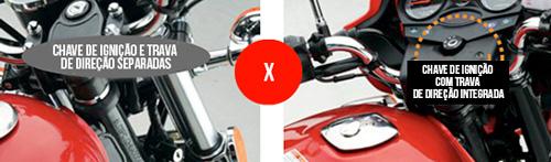 Moto Chopper Road 150 Trava de Direção