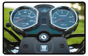 Motocicleta Chopper Road 150 Painel