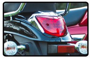 Motocicleta Chopper Road 150 Traseira