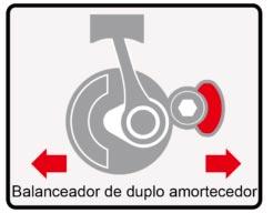 Motocicleta Chopper Road 150 Vibração