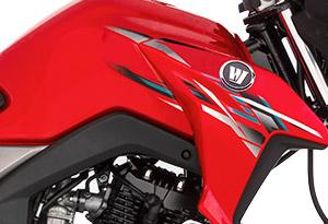 Moto DK 150 Alerta Lateral