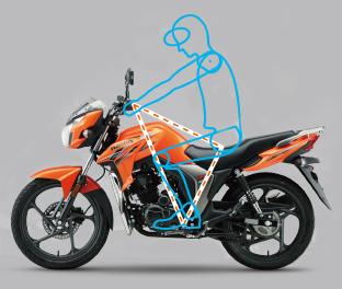 Motocicleta DK 150 Conforto