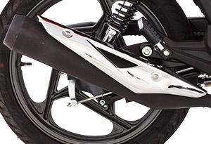 Motocicleta DK 150 Escapamento