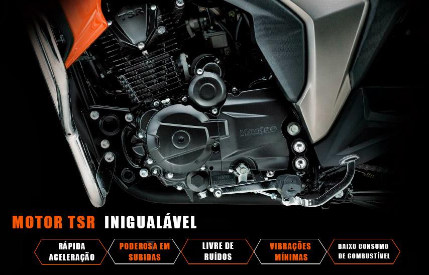 Motocicleta DK 150 Motor