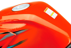 Motocicleta DK 150 Tanque